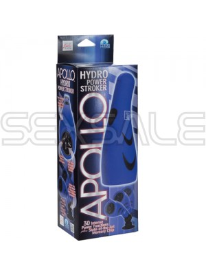 "Вибро оро стимулатор ""APOLLO HYDRO STROKER BLUE"" 23 см"