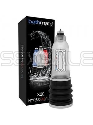 "Хидромакс помпа за уголемяване ""BATHMATE X20"" цв. Перлен"