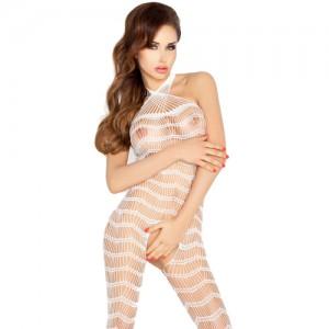 """Секси еротична мрежа с отвор """"PASSION BS022 WHITE"""""""