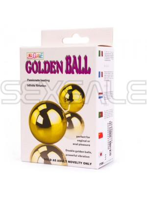 "Вибро анално-вагинални топчета ""VIBRO GOLDEN BALLS"""