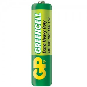 "Батерия ""GP GREENCELL"" 1.5 V AAA"