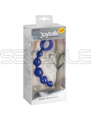 "Анални топчета ""JOYBALLS WAVE T BLUE"" 12 см."