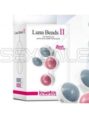 """Анално вагинални топчета """"LUNA BEADS BEIGE"""""""