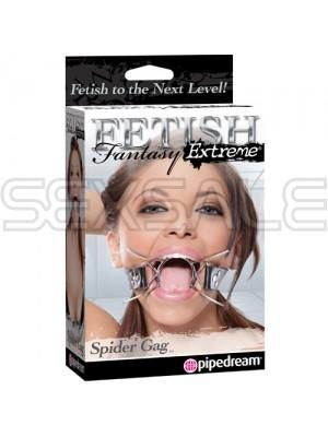 "Метален О-ринг за уста ""SPIDER GAG"""
