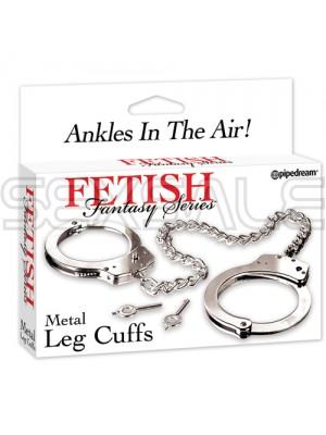 "Метални белезници за крака ""FETISH FANTASY SERIES"""