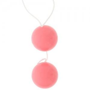 "Анално вагинални топчета ""DUO BALLS PINK"""