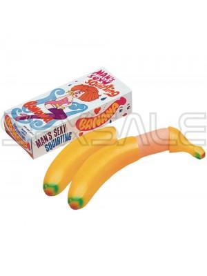 """Пръскащ банан с пенис форма """"SEXY SQUIRTING BANANA"""""""