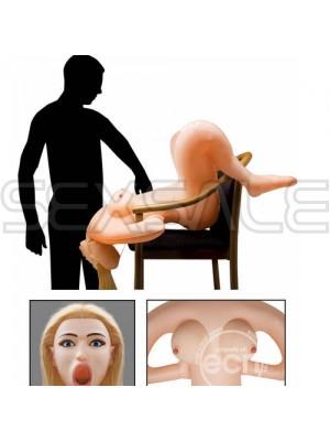 "Кукла ""KAYDEN KROSS"" 3D с Кибер кожа"