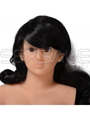"""Реалистична кукла мега-мастурбатор Кибер Кожа """"FIONA"""" 60 см. 3D"""