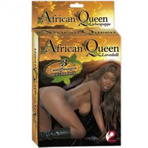 """Кукла """"AFRICAN QUEEN"""""""