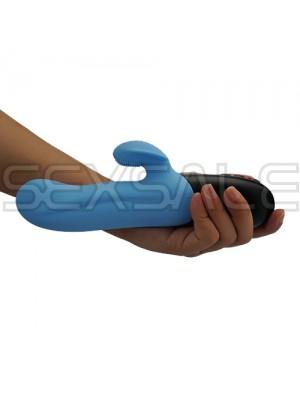 "Луксозен мф вибратор-пулсатор ""AVO A-1 BLUE"" 23 см."
