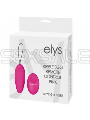 """Безжично вибро яйце """"ELYS PINK"""" 8 см. - 9 функции"""