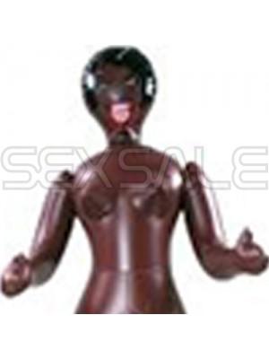 """Мини кукла """"DIVA"""" 66 см. негърка"""
