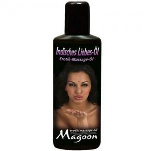 """Еротично масажно олио """"MAGOON"""" 100 ml. Индийски масаж"""