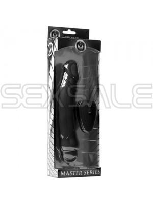 """Безжичен вибратор Медицински силикон """"MASTER IVAN 10X"""" 17 см - wireless"""