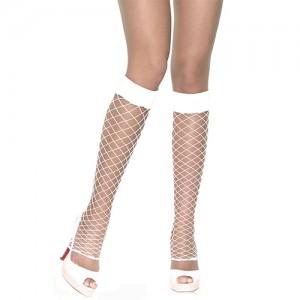 "Секси неонови чорапи ""LEG AVENUE WHITE"""