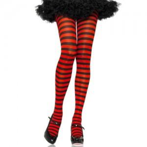 """Секси чорапогащник """"LA BLACK AND RED"""""""