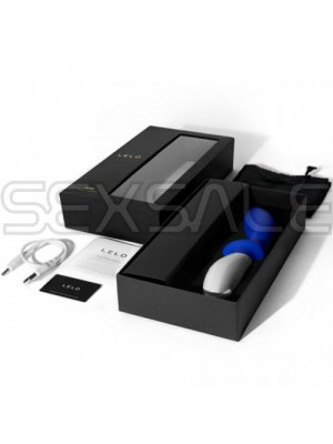 "Простатен стимулатор и масажор ""LELO LOKI FEDERAL BLUE"" 10 см."