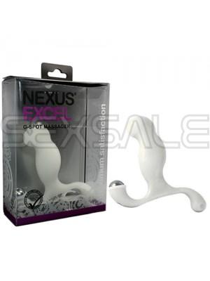 """Простатен стимулатор """"NEXUS EXCEL WHITE"""" 12 см"""