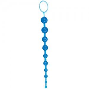 """Анална броеница """"ORIENTAL BLUE"""" 28 см."""