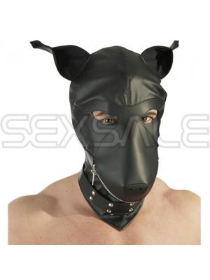 "Кожена кучешка маска за лице ""DEVOTION MASKE"" Унисекс"