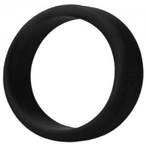 "Пенис ринг пристегач Медицински силикон ""KAPORA BLACK"" 4.5 мм"