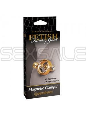 """Метални щипки за зърна с магнит """"MAGNETIC CLAMPS"""" 2 винта"""