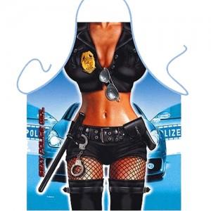 "Готварска престилка с еротични мотиви ""ITATI SEXY POLICE GIRL"""