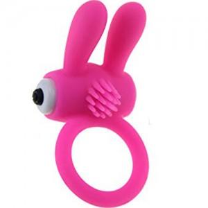 """Вибриращ пръстен със сменяеми батерии """"TOTO PINK"""""""
