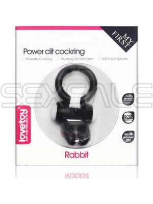 """Пенис ринг със сменяеми батерии """"RCC BLACK"""""""