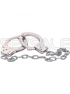"Метални белезници с дълга верига ""SBA"" 48 см."