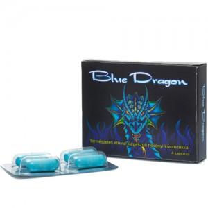 "Секс стимулант ""BLUE DRAGON"" 4 таблетки"