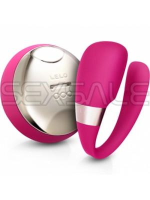 """Вибро масажор и стимулатор """"LELO TIANI III CERISE"""" 8.5 см. Wireless"""
