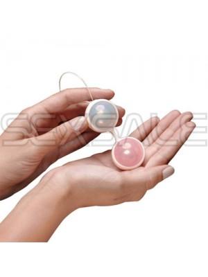 """Анално вагинални топчета """"LUNA BEADS II PINK"""""""