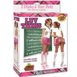 """Кукли """"LUV TWINS"""" Близначки 2 бр."""