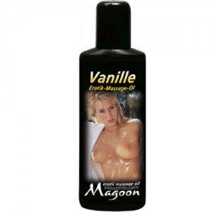 "Еротично масажно олио ""MAGOON"" 100 ml. Ванилия"