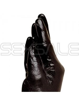 """Анално-вагинален разширител """"ALL BLACK"""" 19 см. Ръка"""